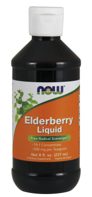 NOW: Elderberry Liquid 8oz.
