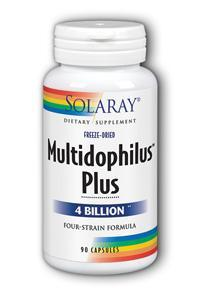 Solaray: Multidophilus plus DDS-1 90ct 4bil