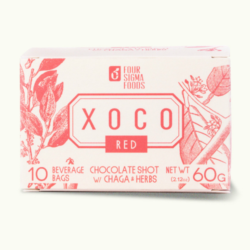 XOCO Red Cordyceps Mushroom Hot Chocolate Drink Mix