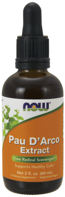 NOW: PAU D' ARCO EXTRACT  2 OZ 1