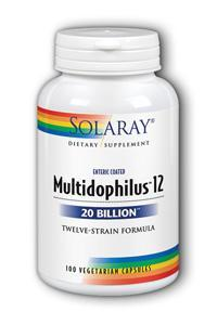Solaray: Multidophilus 12 100ct 20bil