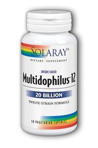 Solaray: Multidophilus 12 50ct 20bil