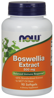 BOSWELLIN EXTRACT 500mg, 90 SoftGels