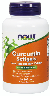 NOW: Curcumin 450mg Softgels 60 gels