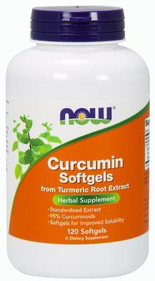 NOW: Curcumin 450mg Softgels 120 gels