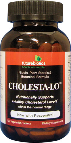 FUTUREBIOTICS: Cholesta-Lo 120 tabs