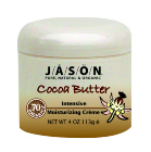 JASON NATURAL PRODUCTS: Cocoa Butter Creme With  Vitamin E 4 oz