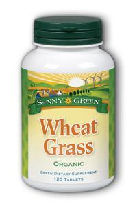 Sunny Green: Wheat Grass 120ct 520mg