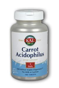 Kal: Carrot Acidophilus 180ct