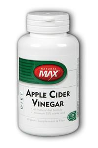 NaturalMax: Apple Cider Vinegar 120ct 1000mg