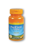 Thompson Nutritional: Pau d' Arco 510mg 60ct 510mg