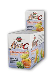 Kal: Fizz C Citrus Glucosamine+ Chondroitin and MSM 30ct 7.5g