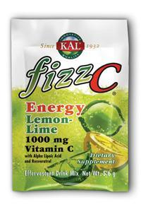 KAL: Fizz C Lemon Lime Energy 30 X 5.6 Pwd Lemon Lime