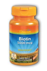 Thompson Nutritional: Biotin 30 Caps