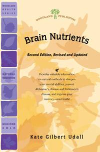 Woodland publishing: Brain Nutrients 32 pgs
