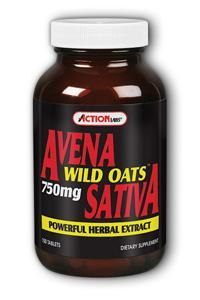 Action Labs: Avena Sativa Wild Oats 100ct 750mg