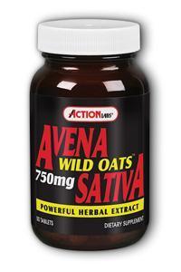 Action Labs: Avena Sativa Wild Oats 50ct 750mg