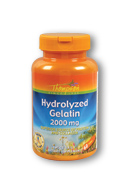 Thompson Nutritional: Hydrolyzed Gelatin 2000mg 60ct 2000mg