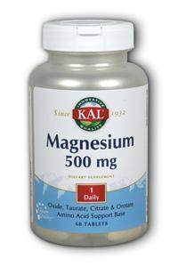 Kal: Once Daily Magnesium 60ct 60ct