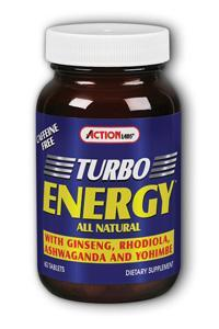 Action labs: Turbo energy 60ct