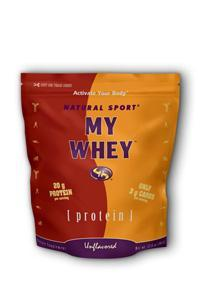 Natural Sport: My Whey 17.8 oz