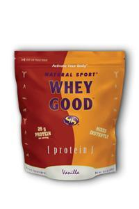 Natural sport: Whey good vanilla 470 g