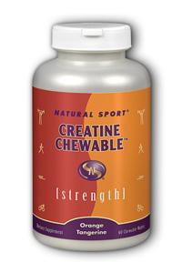 Natural Sport: Creatine Chewable 60ct
