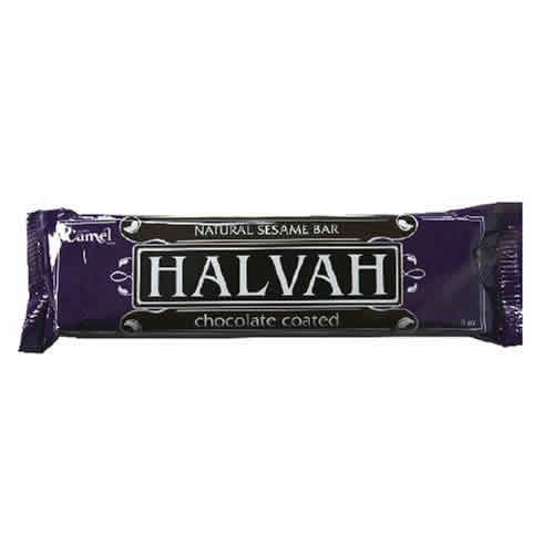 Camel Halvah: Halvah bar,coated 3 OZ