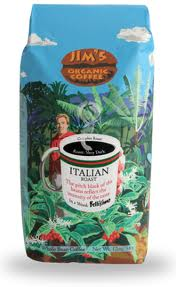 COFFEE BEAN ORGANIC ITALIAN ROAST