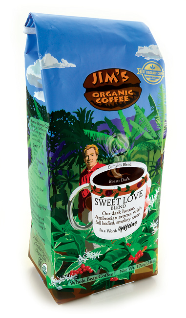 COFFEE BEAN ORGANIC SWEET DECAF