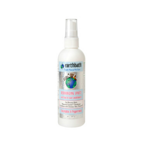 Deodorizing Skin & Coat Conditioning Spritz Eucalyptus & Peppermint Scent 8 oz from EARTHBATH