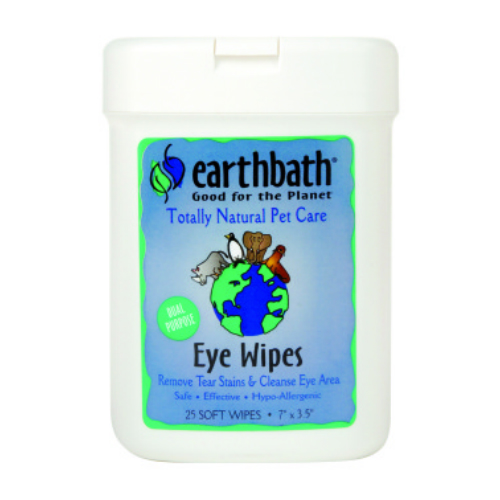 EARTHBATH: Eye Wipes Hypoallergenic Fragrance Free 25 ct