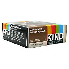 KIND SNACKS: KIND BAR VANILLA ALMOND 12/BX