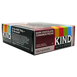 KIND SNACKS: KIND BAR CHOCOLATE CINNAMON NUT 12