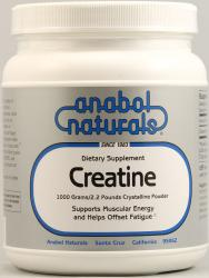 ANABOL NATURALS: Creapure Creatine Powder 1000 gm