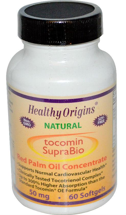 HEALTHY ORIGINS: Tocomin SupraBio (Tocotrienols) 50mg 60 softgel