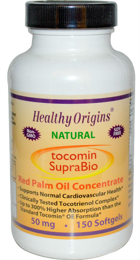 HEALTHY ORIGINS: Tocomin SupraBio (Tocotrienols) 50mg 150 softgel