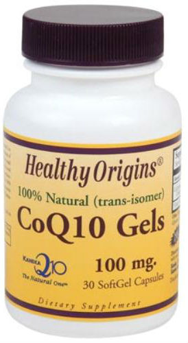 HEALTHY ORIGINS: CoQ10 100mg (Kaneka Q10) 30 softgel