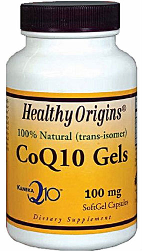 HEALTHY ORIGINS: CoQ10 100mg (Kaneka Q10) 60 softgel