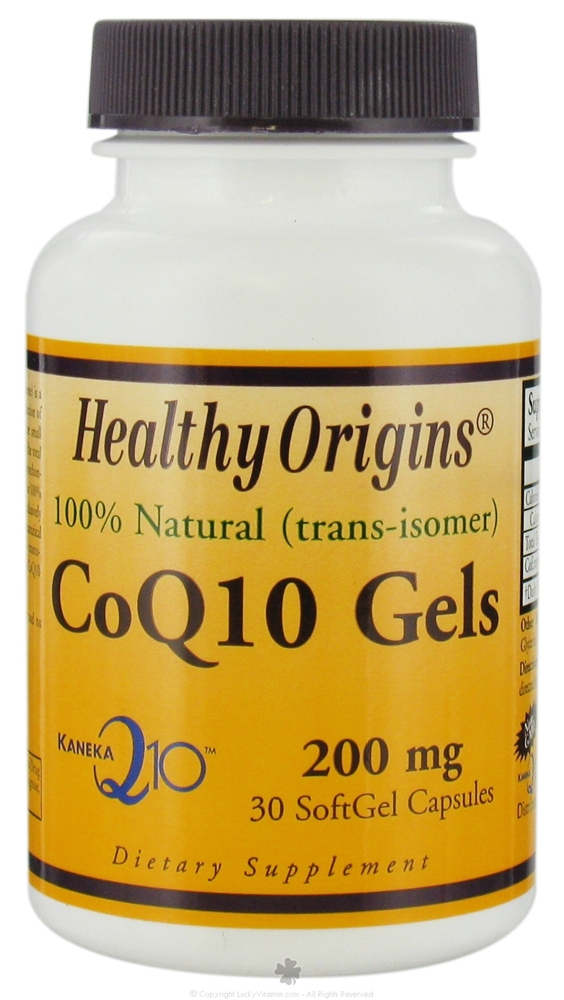 HEALTHY ORIGINS: CoQ10 200mg (Kaneka Q10) 30 softgel