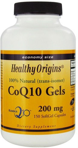 HEALTHY ORIGINS: CoQ10 200mg (Kaneka Q10) 150 softgel