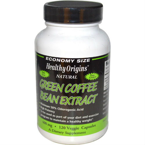 Green Coffee Bean Extract 400mg, 120 capvegi