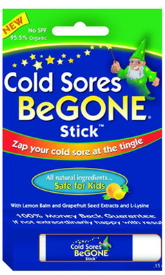 ROBIN BARR ENTERPRISES: Cold Sores BeGone Stick 0.15 oz