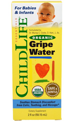 Organic Gripe Water for Babies & Infants