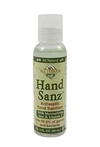 ALL TERRAIN: Hand Sanz Spray with Aloe & Vitamin E 2 oz