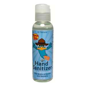 ALL TERRAIN: Phineas & Ferb Hand Sanitizer with Aloe & Vitamin E 2 oz