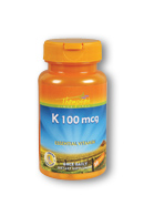 Thompson nutritional: K 100mcg 30ct 100mcg