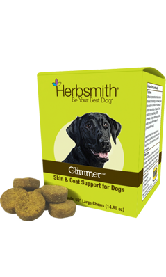 Glimmer Skin & Coat Support Soft Chews Large