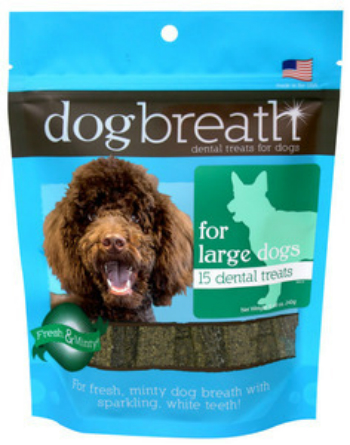 Dog Breath Dental Treats for Large Dogs