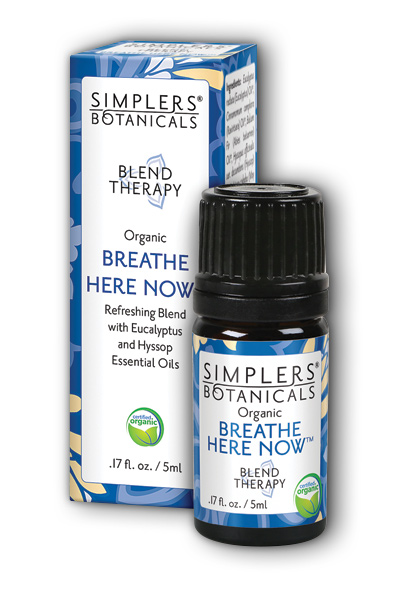 Simplers Botanicals: Breathe Here Now 5 ml Liq